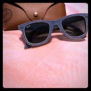 Denim Ray-bans Sunglasses